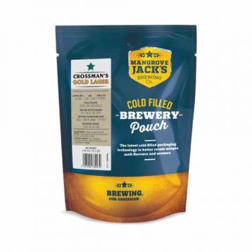 Gold lager  1,8kg Mangrove Jack´s mladinový koncentrát