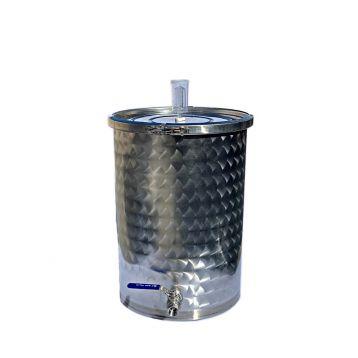 Nerezová fermentační nádoba 35l s kvasnou zátkou
