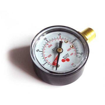 Manometr tlak v lahvi CO1 a N2