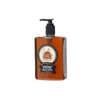 Pivní tekuté mýdlo dávkovač 500ml Saela