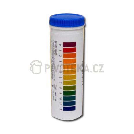 PH test  indikační papírky universální tuba