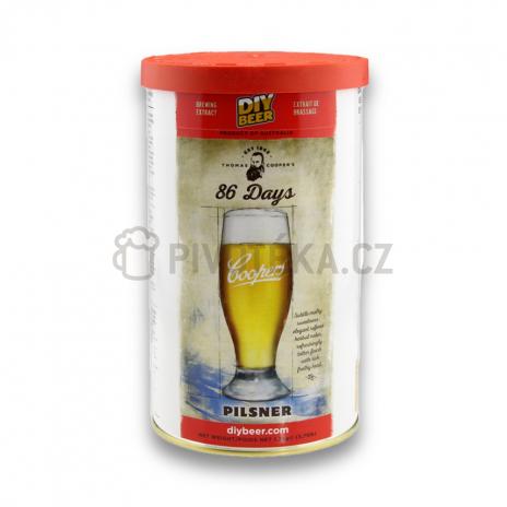 Pilsner 1,7kg mladinový koncentrát Coopers