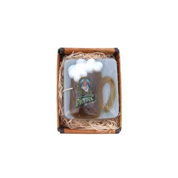Pivrnec mýdlo v krabičce ručně vyráběné 85 g