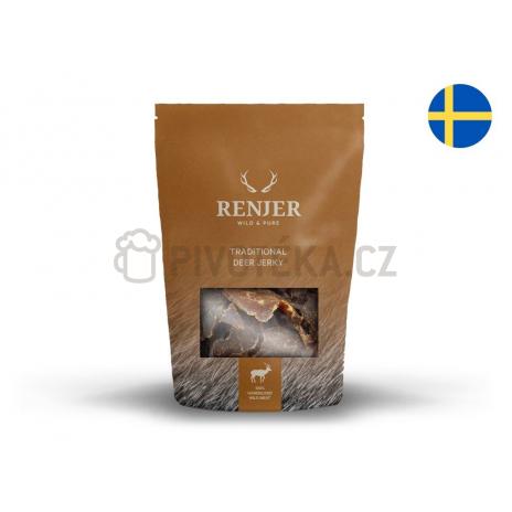 Renjer Jelení Chilli a Limeta Jerky 30g