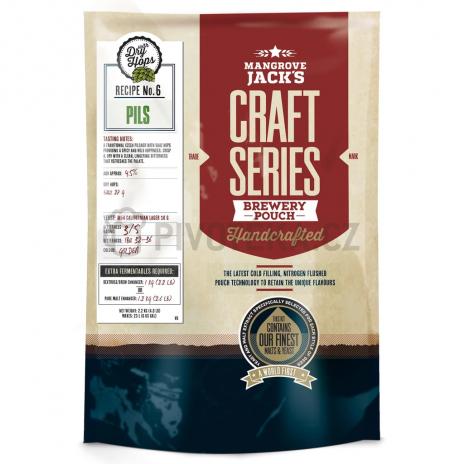 Craft Series Pils Dry Hops 2,2kg Mangrove Jack´s koncentrát