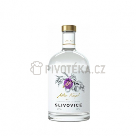 Anton Kaapl Slivovice 0,5l 47%