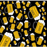 Multifunkční návlek Voox uni  vzor pivo Velké