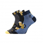 Ponožky pivo MIX velikost 39-42 3 páry
