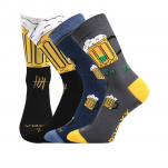 Ponožky pivo 5 MIX velikost 39-42 3 páry