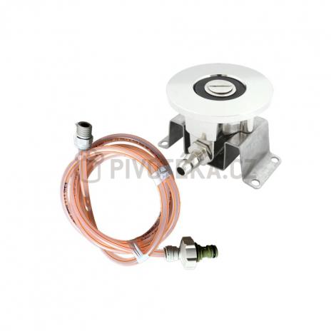 Set sanitační adaptér plochý + zahradní rychlospojka