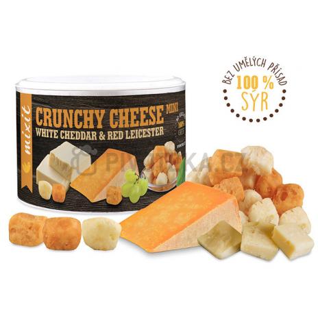 Křupavý sýr: White Cheddar & Red Leicester Mixit 70g