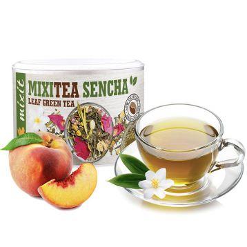 Mixitea Zelený čaj Senza Broskev Mixit 110g