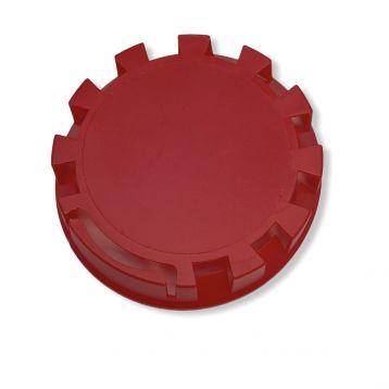 Plastové víčko sud bajonet červené