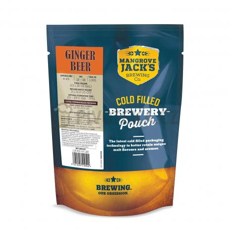 Zázvorové pivo 1,8kg koncentrát Mangrove Jack's