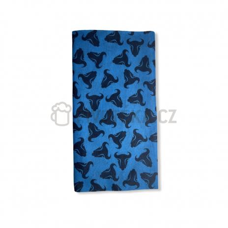 Multifunkční šátek Zubr modrý