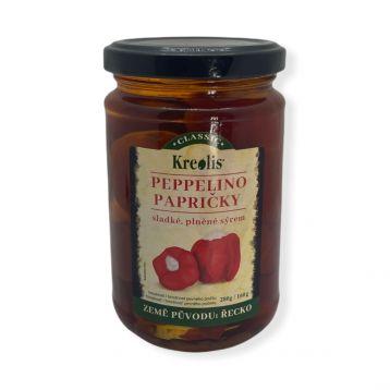 Peppelino papričky plněné sýrem 280g