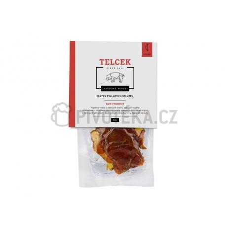 Telcek - Plátky z mladých selátek 50g Chilli Carolina Reaper