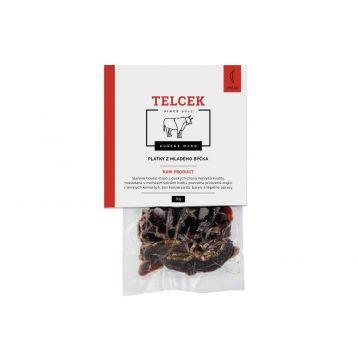 Telcek - Plátky z mladého býčka 50g Chilli Carolina Reaper
