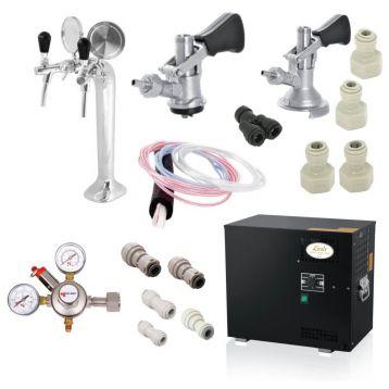 Domácí hospoda Lindr AS-40 2x nápoj +redukční ventil CO2