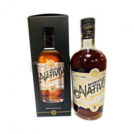 Nativo Autentico  15 Y.O.  40% 0,7l (holá láhev)