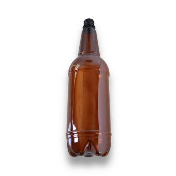 PET láhve  hnědé  1,5l bez uzávěru