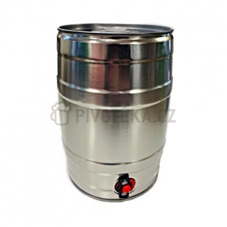 5l soudek stříbrný s výčepním ventilem